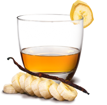 Recette rhum banane vanille au miel au rhum blanc Dillon ...