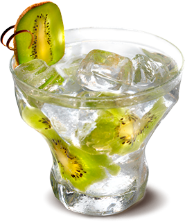 Cocktail Rhum Ti' Kiwi